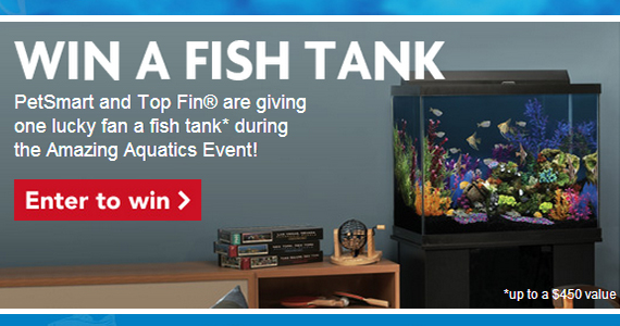 Win a Fish Tank from PetSmart
