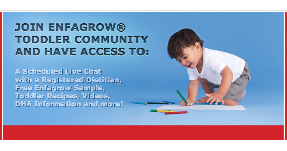 Join the Enfagrow Toddler Community