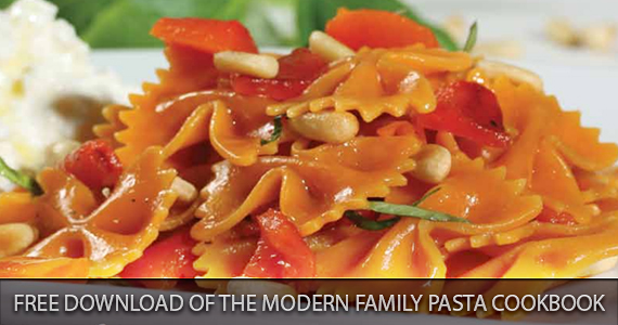 Free Download of The Modern Family Pasta Cookbook