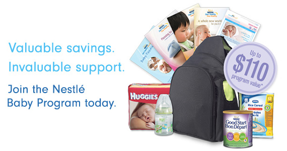Great Samples and Savings from the Nestle Baby Program