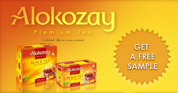 Get a Free Premium Tea Sample from Alokozay