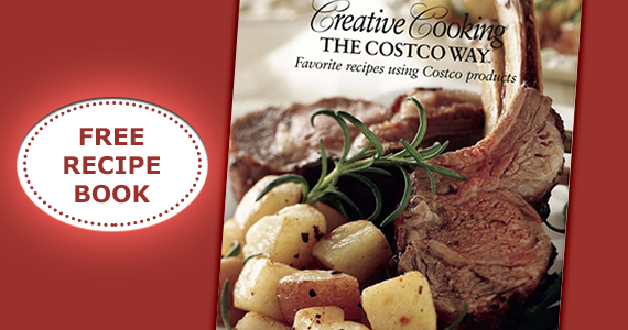 Free 'Creative Cooking' with Costco Recipe Book