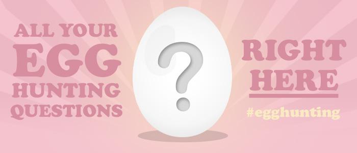The 2014 Easter Egg Hunt FAQ's