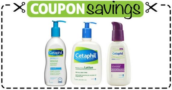 Save $5 on Cetaphil Moisturizers