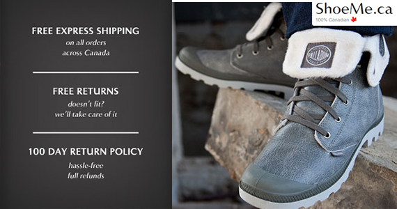 Get Free Express Shipping at ShoeMe