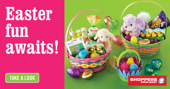 Shoppers Drug Mart Has Everything for Easter