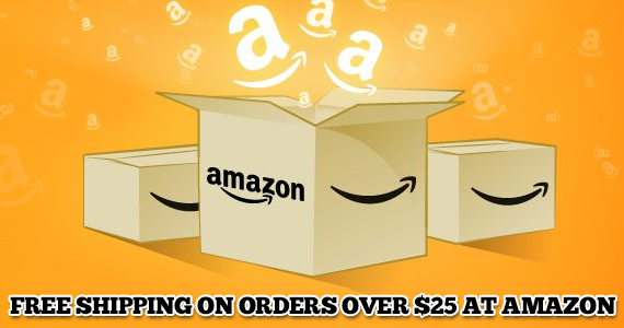 Get Free Shipping at Amazon