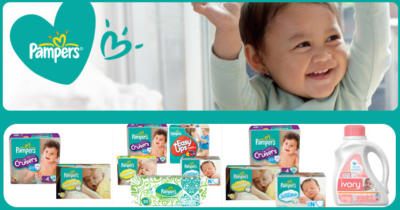 Save with Great Pampers Coupons