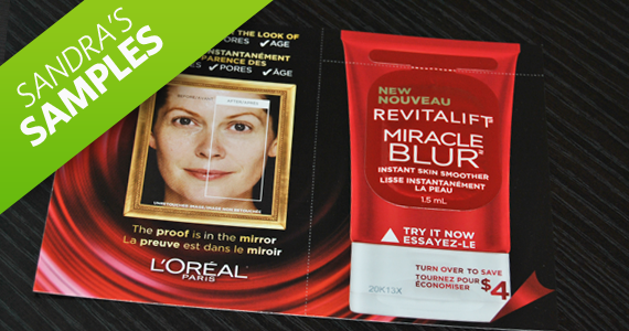 Sandra's Samples- L'Oreal Miracle Blur Product