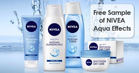 Free Sample of NIVEA Aqua Effects