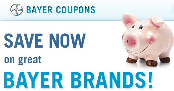 Save BIG with Bayer Coupons