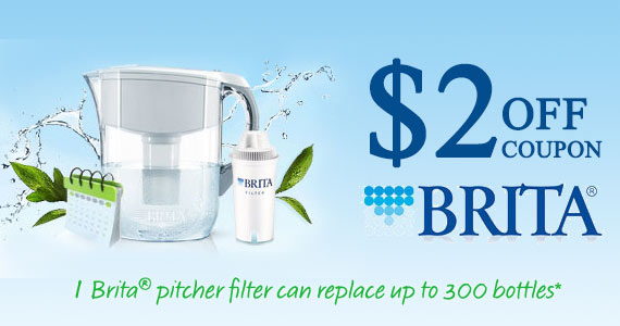 Sign Up with Brita and Get a $2 off Coupon