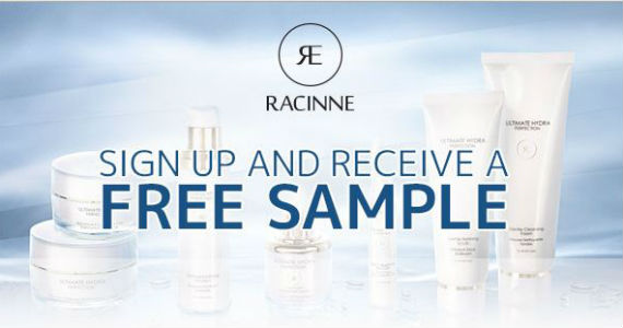 Choose 1 of 3 Racinne Product Samples