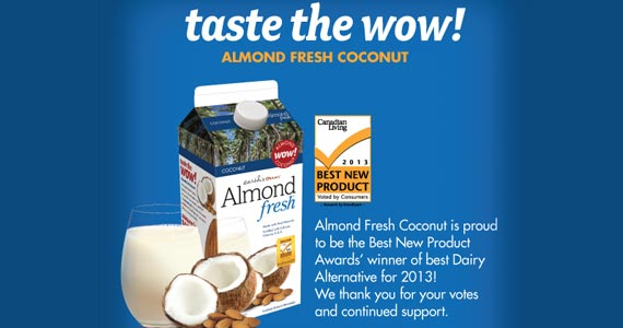 Save $1 on Almond Fresh