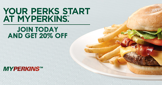 Join the MyPerkins Club and Get 20% Off