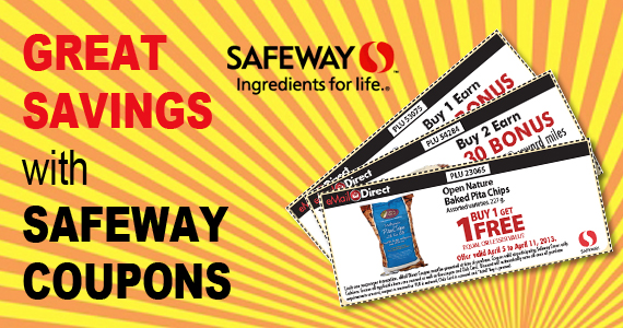Great Savings with Safeway Coupons