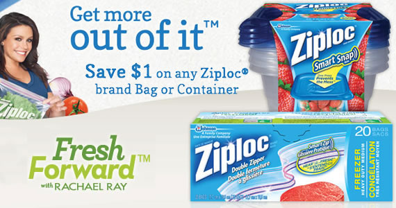 Save $1 on Any Ziploc Bag or Container