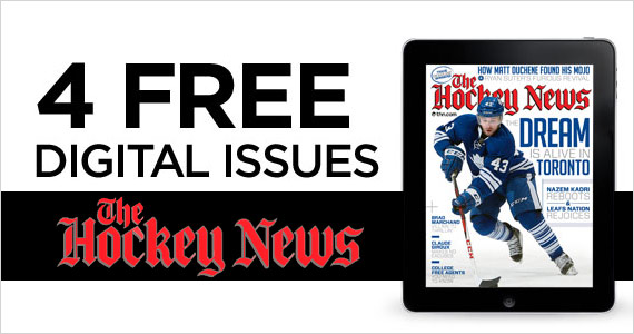 4 Free Digital Issues of The Hockey News