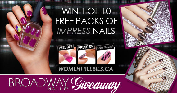 Broadway Nails imPRESS Daily Giveaway WINNERS