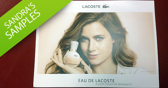 Sandra's Samples- EAU DE LACOSTE Fragrance Sample