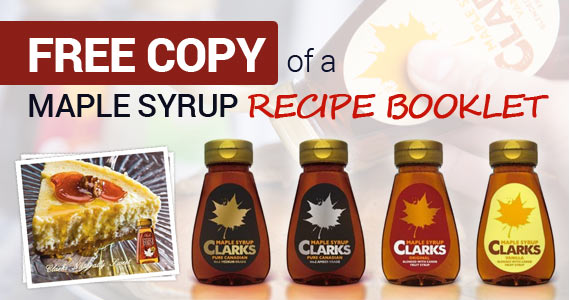 Free Copy of a Maple Syrup Recipe Booklet