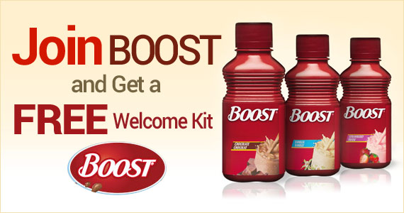 Join BOOST and Get a Free Welcome Kit