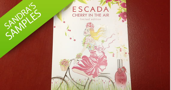 Sandra's Sample- Escada Cherry in the Air Fragrance
