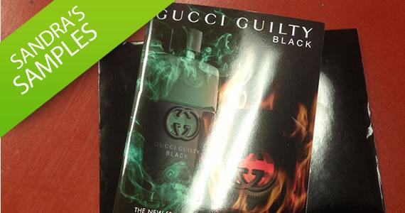 Sandra's Sample- Gucci Guilty Black Fragrance