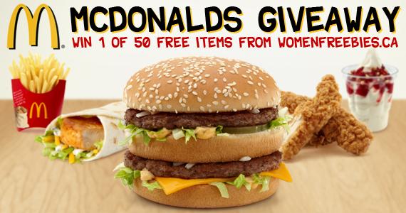 McDonalds Giveaway WINNERS