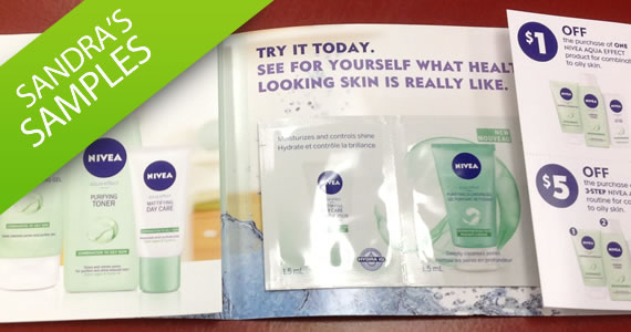 Sandra's Samples- NIVEA Aqua Effects Sample