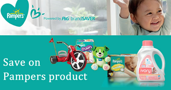 Save on Pampers Products