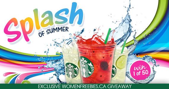 Splash of Summer Starbucks WINNERS