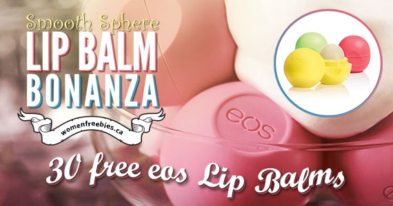 Smooth Sphere Lip Balm Bonanza Winners