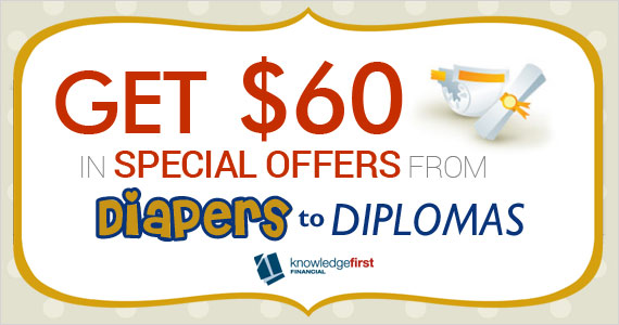 Get $60 in Special Offers from Diapers to Diplomas