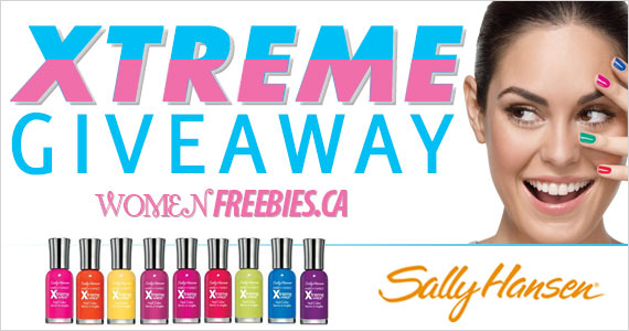Sally Hansen Xtreme Giveaway WINNERS