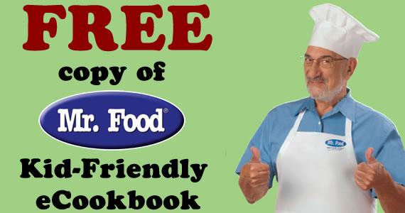 Free Copy of Mr. Food Kid-Friendly eCookbook