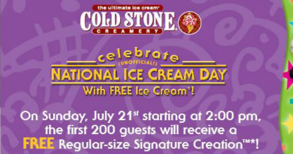 Free Regular-Size Signature Cone from Cold Stone