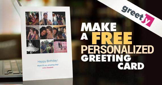Make a Free Personalized Greeting Card