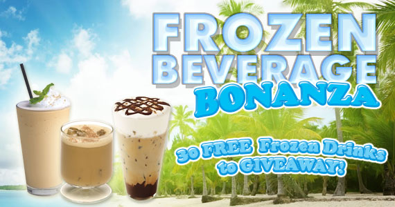 Frozen Beverage Bonanza WINNERS