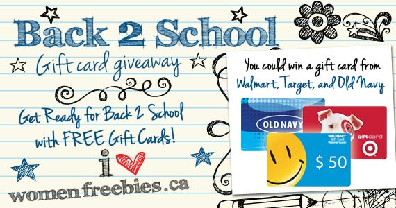 Are You A Back 2 School Giveaway WINNER?
