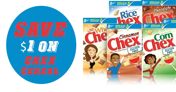 Save $1 on Chex Cereal