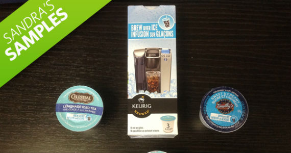 Sandra's Samples- Brew Over Ice K-Cups