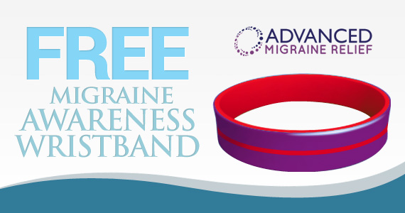 Free Migraine Awareness Wristband