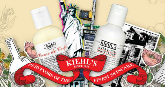 Samples of Kiehl's Creme de Corps and Ultra Facial Moisturizer