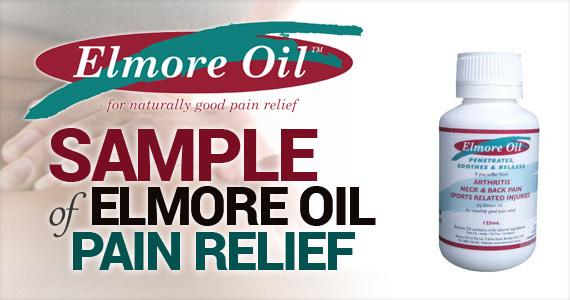 Sample of Elmore Oil Pain Relief