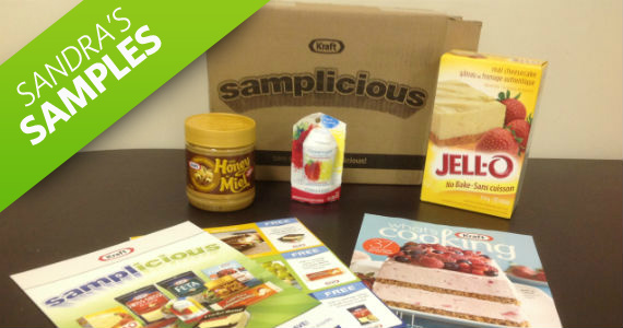 Sandra's Samples- Kraft Samplicious Pack
