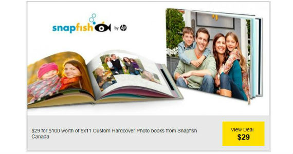 $29 for $100 Worth of 8×11 Custom Hardcover Photo Books