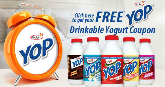 Get a Free YOP Drinkable Yogurt Coupon