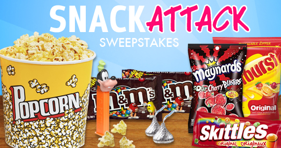 Are You A Snack Attack Gift Card Winner?