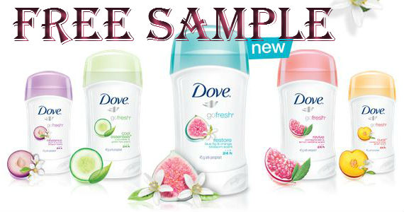 FREE Sample of Dove goFresh
